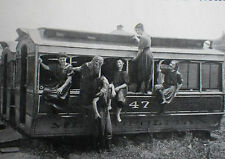US Streetcar Trolley Car Holiday Water Nymphs 1907 2 Page Photo Article 7930