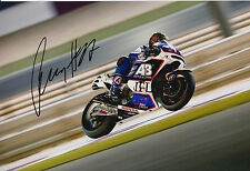 Karel Abraham mano firmato AB MOTORACING HONDA 12x8 FOTO 2015 motogp 3.