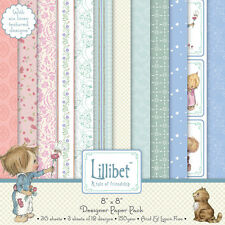 "Bargain -Trimcraft Lilliput 36 X 8"" x 8"" Papers for crafts"