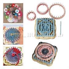 Lot 9 flower loom métier à tisser machine outil tricot tricoter fluer 6 taille