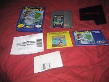 NES Nintendo Rampage Complete In Box CIB