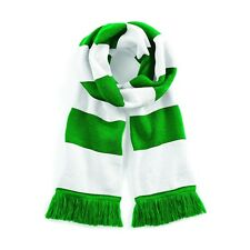 Mens Womens Striped Scarf Stripey Stripe Scarf Sports Football Warm Soft Winter