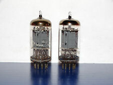 2 x Telefunken 12AX7/ECC83 Tubes*  *Ribbed Plate*Matched Pair*Strong & Balanced*