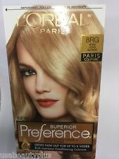 L'Oreal Superior Preference Paris Couture Hair Color ROSE GOLD BLONDE #8RG