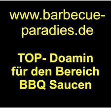 Www.barbecue-paradies.de domain name indirizzo web per BARBECUE SALSE SNACKS USA Domain