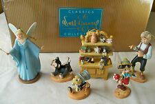 "WDCC ""Ornament Set"" from Disney's Pinocchio, Limited Edition #1010 of 4000 --New"