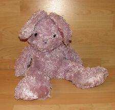 "19"" Shaggy Plush Purple Lavendar Bunny Rabbit Walmart Wal-Mart"