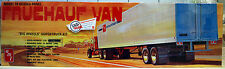 Fruehauf Van FB Beaded Panel Trailer, 1:25, AMT 649