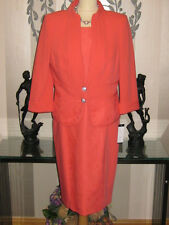 **BRAND NEW** VENI INFANTINO CORAL 2-PIECE LACE MOTHER OF THE BRIDE, size 16