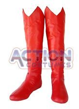 Superman Special Edition Adult Boots 70´s Style