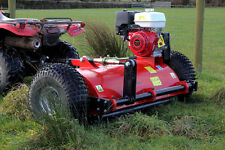 All-Rounder Pro ATV Quad Flail Mower Loncin 15HP Engine. tow Pull behind topper.