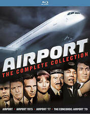 Airport: The Complete Collection (Blu-ray Disc, 2016, 4-Disc Set)