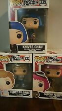 Funko Pop SCOTT PILGRIM Scott Ramona Flowers Knives Chau 333 334 335