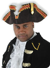 Gov'nah Pirate Captain Hat Govnah Adult Halloween Costume Accessory
