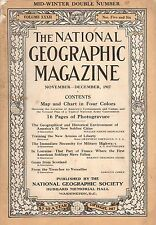 1917 National Geographic November-December- American Military Camps; Lorraine