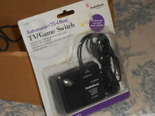 RadioShack Automatic 75 Ohm TV / Game Switch New in Box