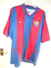 Barcelona 2002 2003 home shirt Large thilo 20