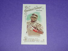 2014 Allen & Ginter CARLOS SANTANA Red Flag Back Mini SP/25 Cleveland INDIANS