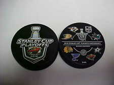 2016 NHL Minnesota Wild Stanley Cup Playoffs Hockey Two Puck Souvenir Pack