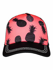 ROXY WOMENS BASEBALL CAP.NEW DIG THIS PINEAPPLE ADJUSTABLE TRUCKER HAT 7S/10/NKN