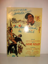 CARTE POSTALE CINEMA - AN AMERICAN IN PARIS GENE KELLY