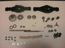 ALL TAMIYA TRACTOR 2 OUTPUT REAR AXLE COMPLETE SCANIA KING MAN GRAND GLOBE 1/14