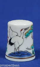 """SPECIAL OFFER"" TCC Minoru Japan 'Crane' China Thimble B/50"