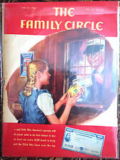 Antique Family Circle Magazines, Women in Military, WW2/ 1940s – Set of 2/ $20