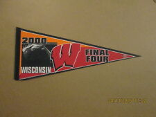 NCAA Final Four Wisconsin 2000 Logo College Pennant