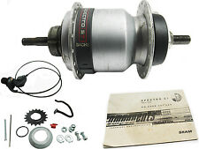 SACHS Spectro S7 36H HUB Internally Geared 7 Speed  New Old Stock Retro Vintage