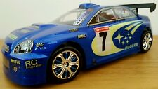 SUBARU IMPREZA CMR Radio Remote Control Car scala 1.18 Fast Speed 24.5 cm 49Mhz