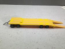 HO 1/87 Herpa # 76142-004  Goldhofer Equipment Float w/Ramps - Yellow