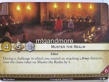 A Game of Thrones 2.0 LCG - 1x Muster the Realm #019 - Taking the Black - Second