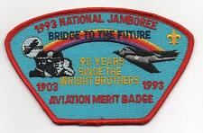 1993 National Jamboree, Aviation MB Staff JSP, Red Brd., Mint!