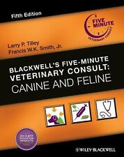 Blackwell's Five-Minute Veterinary Consult: Canine and Feline, , Good Book