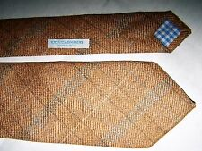 "CRAVATTA ""CHESTER TAYLOR BROWNS'"" LONDON 100% CASHEMERE TIE MADE IN ITALY"