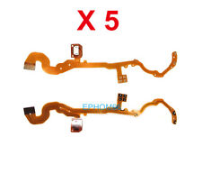 5 Pieces of Lens Shutter Flex Cable For Canon Powershot S2 S3 S5 S2IS S3IS S5IS