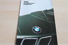 121371) BMW 5er Reihe E28 524td Prospekt 02/1985