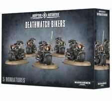 Warhammer 40k Space Marines Deathwatch Bikers NIB