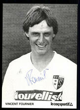 Vincent Fournier AUTOGRAFO biglietto FC Sion ORIGINALE FIRMATO + a 94427