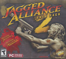 JAGGED ALLIANCE 2 GOLD PACK + Unfinished Business - Windows XP, Vista, 7 - NEW!