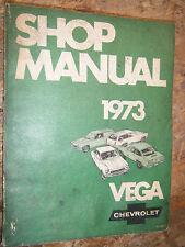 1973 CHEVROLET VEGA KAMMBACK NOTCH BACK PANEL EXPRESS FACTORY SERVICE MANUAL