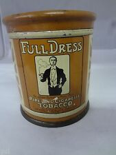 FULL DRESS SEARS  TOBACCO TIN ADVERTISING VINTAGE CANISTER EXC COND  136-R