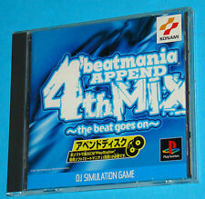 Beatmania Append 4th Mix - The Beat Goes On - Sony Playstation - PS1 PSX - JAP