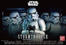 Star Wars Stormtrooper, Modellbausatz 1/12 von Bandai, neu & OVP, Sturmtruppen