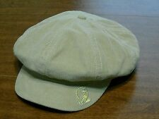 Baby Phat Women's Light Brown Corduroy Newsboy Hat Size OSFM