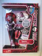 2011 MONSTER HIGH OPERETTA + DIARY + PET DADDY O LONGLEGS - RETIRED