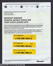 Microsoft Windows Essential Business Server EBS 2008 75 User Device CAL
