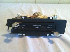 1977 FORD VAN TEMPERATURE CONTROL & FAN SWITCH PANEL E150 E250 E350