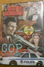 Mister Scarface & Cop in Blue Jeans BRAND NEW Double Feature Jack Palance Dvd